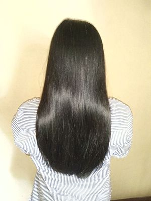 Human hair color