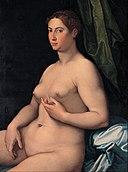 Girolamo Siciolante da Sermoneta - A seated female - Google Art Project.jpg