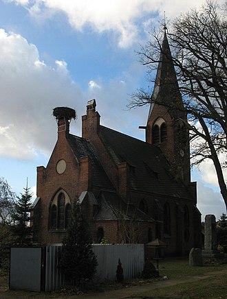 Löwenberger Land - Image: Glambeck church