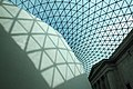 Glass and steel roof of the Great Court, British Museum, London - panoramio (13).jpg