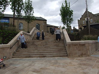 Glossop - Henry Street Staircase realised through Glossop Vision