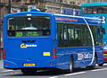 Go North East bus 4955 Scania L94 Wrightbus Solar NA02 NVL Cobalt Clipper & R19 livery in Newcastle 9 May 2009 2.jpg