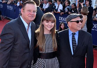God Bless America (film) - Director and stars promoting the film at the Deauville American Film Festival in 2012.