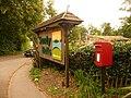 Godshill, postbox No. SP6 322 - geograph.org.uk - 1444376.jpg