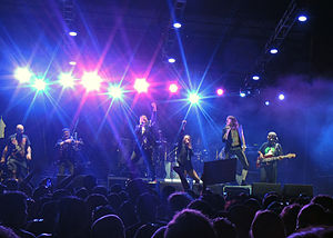 Gogol Bordello - Gogol Bordello performing in 2014