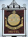 Golden Ball hotel - sign - geograph.org.uk - 1038365.jpg