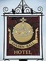 Golden Ball hotel - sign - geograph.org.uk - 1038365.jpg