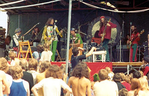 Gong (band) - Gong playing Hyde Park, 29 June 1974