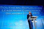 Governor of Florida Jeb Bush at Southern Republican Leadership Conference, Oklahoma City, OK May 2015 by Michael Vadon 129.jpg