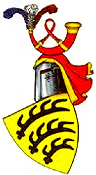 History of Baden-Württemberg - Arms of the counts of Württemberg