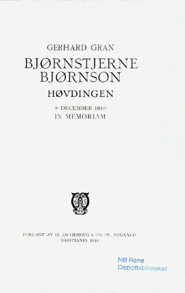 File:Gran - Bjørnson.djvu