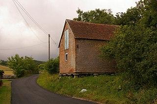 Apesdown village in United Kingdom