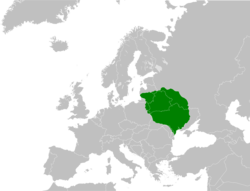 Location of Lietuva