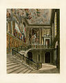 Grand Staircase, Hampton Court, from Pyne's Royal Residences, 1819 - panteek pyn105-531.jpg