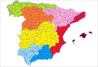 Comarcas of Spain administrative, natural, traditional or historic subdivision of provinces or autonomous communities in Spain