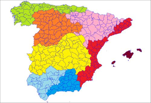 Worksheet. Comarcas de Espaa  Wikipedia la enciclopedia libre