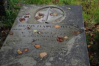 David Owen (harpist) - Grave of David Owen at Ynyscynhaearn