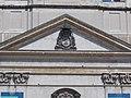Great Church, tympanum, Esterházy CoA, 2020 Pápa.jpg