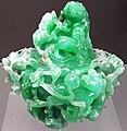 Green jadeitite Chinese incense burner (Qing period, 1644-1911) 2 (49166822028).jpg