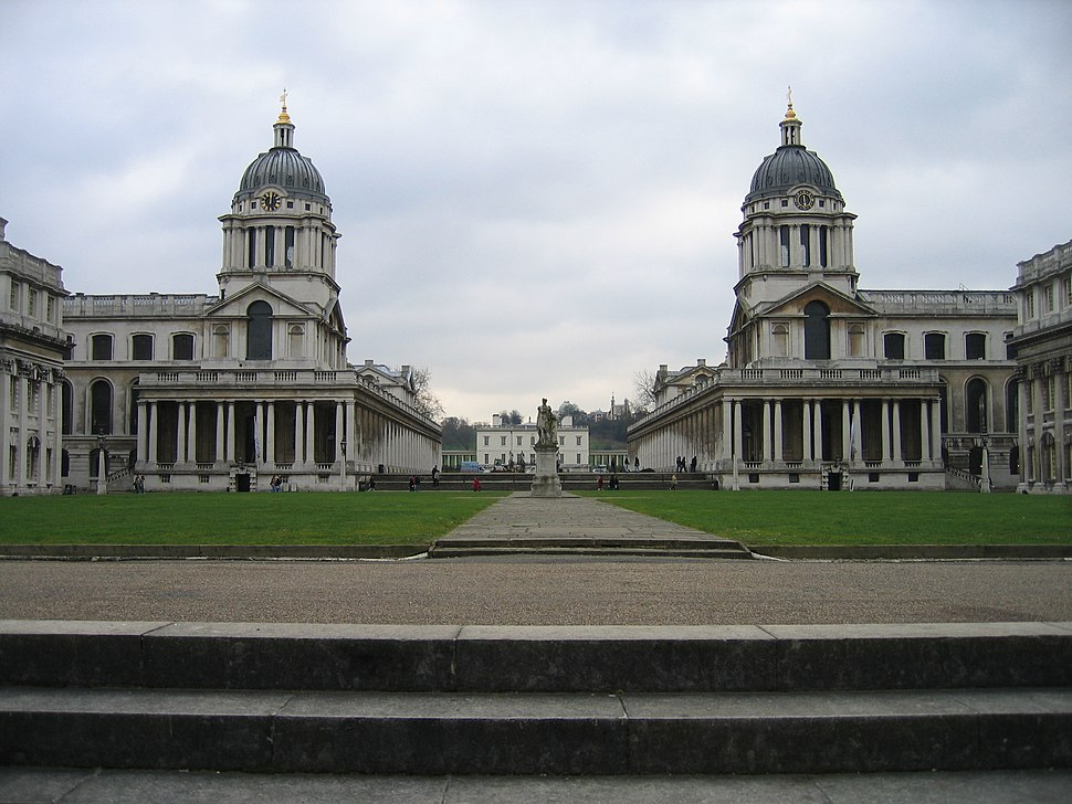 Greenwich Hospital from Thames