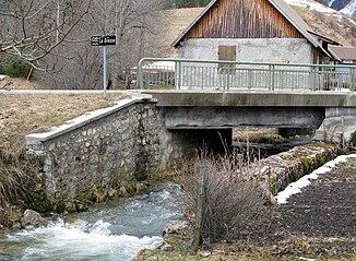 The river at Gresse-en-Vercors