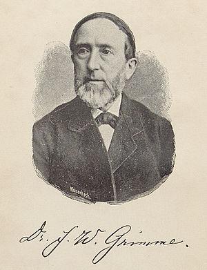 Friedrich Wilhelm Grimme - Friedrich Wilhelm Grimme