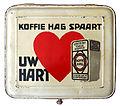 Groot wit blik van NV Koffie Hag Mij Amsterdam, foto 3w.jpg