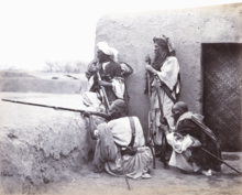 Group of Afridis at Jamrūd, 1866 WDL11469, crop.png