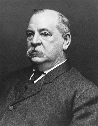 1884 United States presidential election - Image: Grover Cleveland NARA 518139 (cropped)
