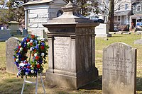 Grover Cleveland family grave site, Princeton Cemetery.jpg