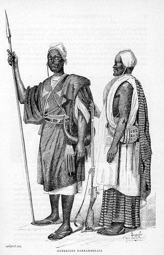 Soninke people - Image: Guerriers Sarrakholais