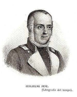 Guglielmo Pepe - Image: Guglielmo Pepe