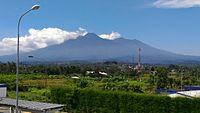 Gunung Gede viewed from Cicurug.jpg