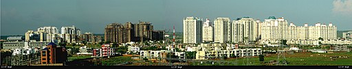 Gurgaon Panorama