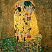 The Kiss. 1907–1908. Oil on canvas. Österreichische Galerie Belvedere.