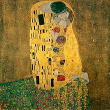 Το φιλί, 1907-1908, Λάδι σε μουσαμά, 180 x 180 εκ., Österreichische Galerie Belvedere