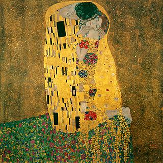 Der Kuss - Liebespaar (Gustav Klimt)