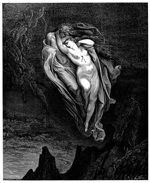 Gustave Doré's illustration to Dante's Inferno...