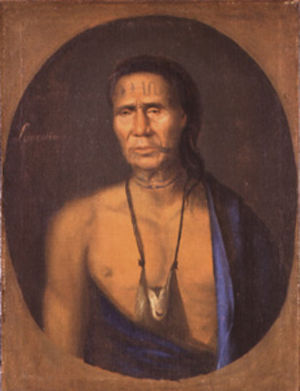 Gustavus Hesselius - Image: Gustavus Hesselius Lapowinsa
