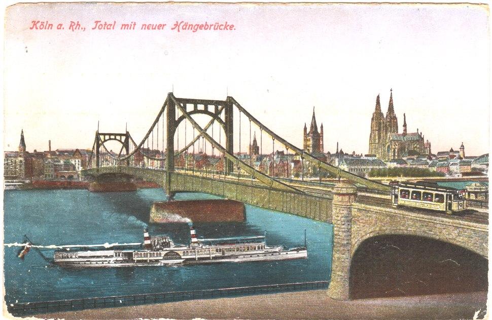 Hängebrücke - Köln (1)