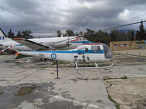 Bell 47J Ranger - Agusta-Bell 47J Ranger at the Hellenic Air Force Museum at Dekelia (Tatoi), Athens, Greece