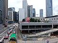 HK 中環 Central 天橋 footbridge 夏慤道 Harcourt Road August nearby 怡和大廈 Hutchison House August 2019 SSG 09.jpg
