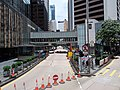 HK 中環 Central 德輔道中 Des Voeux Road tram view Chater Road holiday July 2019 SSG 09.jpg