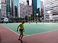 HK 灣仔 Wan Chai 修頓球場 Southorn Playground evening February 2019 SSG 06.jpg