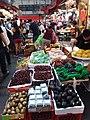HK 灣仔 Wan Chai 寶靈頓道 Bowrington Road fresh vegetable n seafood wet outdoor old market August 2019 SSG 07.jpg
