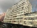 HK Bus 101 Tour view 馬頭涌道 Ma Tau Chung Road tong lau facades April 2013.JPG