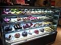 HK CWB Windsor House Paul Lafayet Bakery shop cake food counter May-2012.JPG
