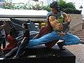 HK Kln Park Ma Wing Shing Storm Riders Cloud n female fans visitors Oct-2012.JPG