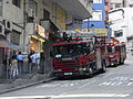 HK Sai Ying Pun 水街 Water Street Fire engine Scania 310 July-2010.jpg