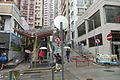 HK Sai Ying Pun 3rd Third Street ramp Centre Street escalators June 2017 IX1.jpg